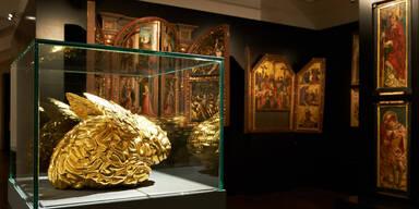 Gold im Belvedere