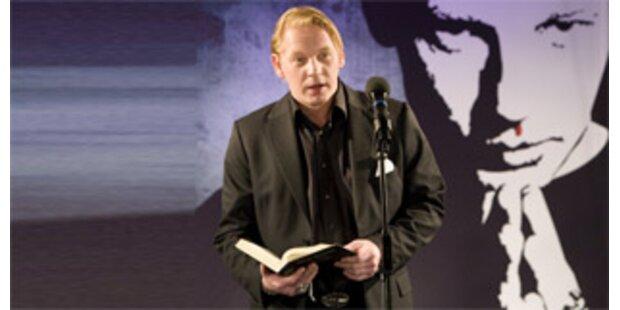 Die Bibel-Weltpremiere für Ben Becker