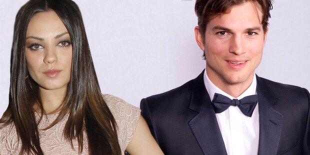 Ashton Kutcher: Ein Baby mit Mila Kunis?