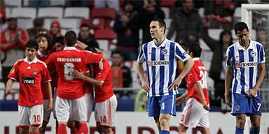 Benfica überrollt Hertha BSC