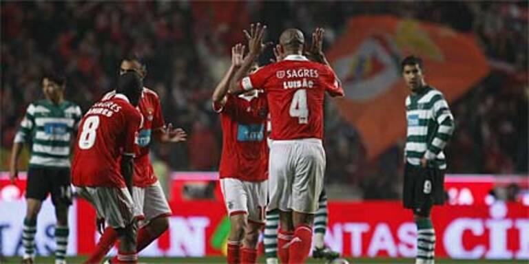 Benfica fast schon Meister