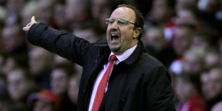 Liverpool-Coach Benitez vor Absprung