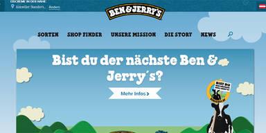 Bist Du der nächste Ben & Jerry's?