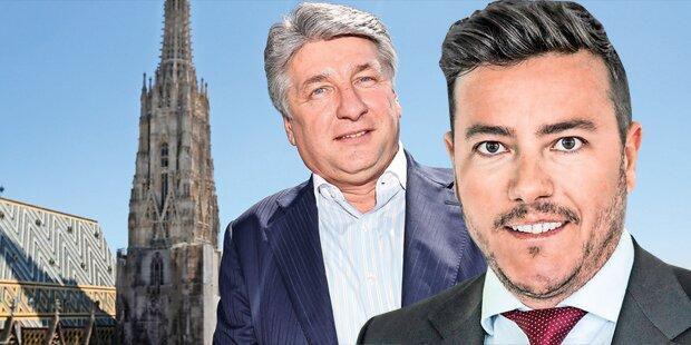 Benko und Pecik vor Super-Coup