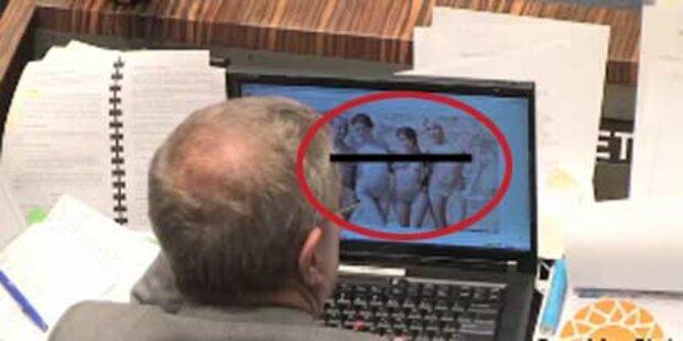US-Senator beim Pornoschauen erwischt