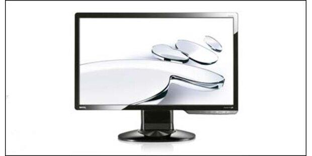 BenQ stellt zwei FullHD LED-Displays vor