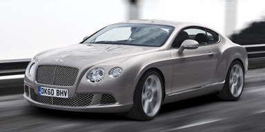 Bentley Continental GT Facelift in Paris