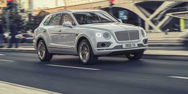 Bentley bringt den Bentayga mit Plug-in-Hybrid