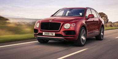 V8-Benziner für den Bentley Bentayga