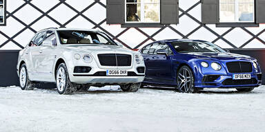 Stärkster Bentley: Europa-Premiere in Kitz