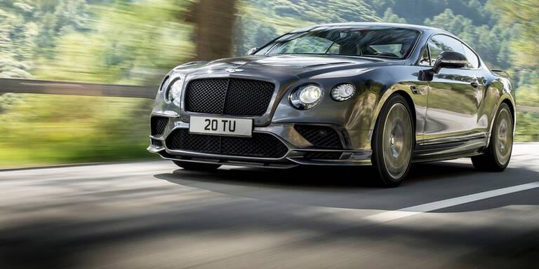 Stärkster Bentley aller Zeiten startet