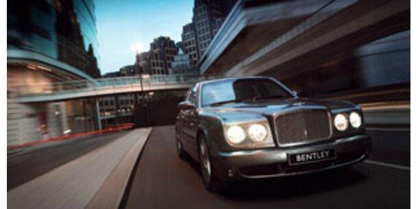 Bentley verkauft erstmals mehr als 10.000 Wagen