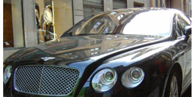 Bentley-Mann als Bankenschreck
