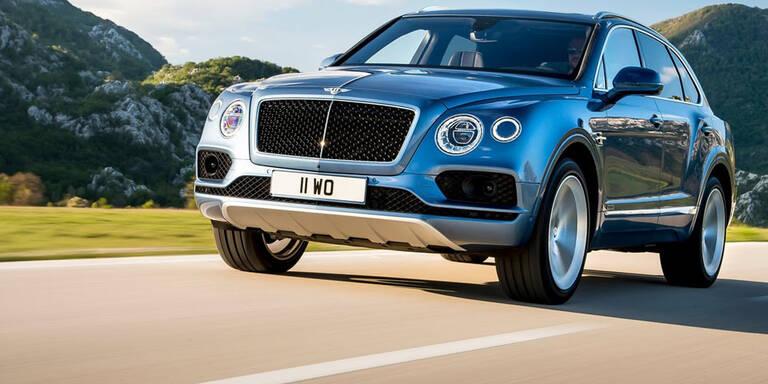 Bentley Bentayga startet mit Dieselmotor