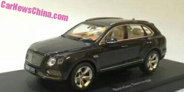 Spielzeugbauer leakt Bentley Bentayga