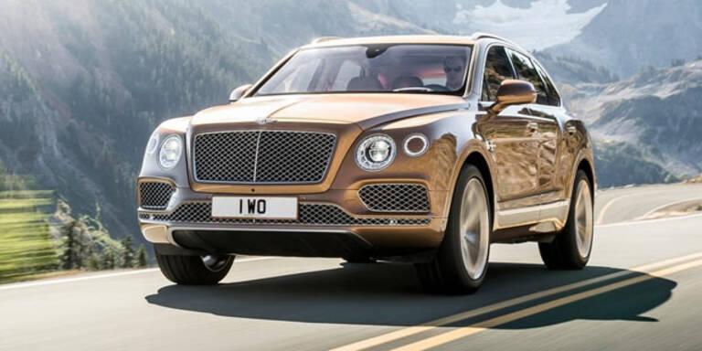Bentley bringt schnellstes SUV der Welt