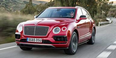 Bentley Bentayga ist restlos ausverkauft
