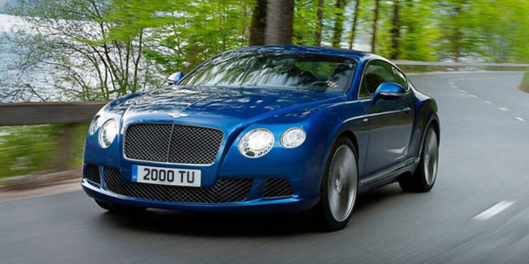 Bentley zeigt neuen Continental GT Speed