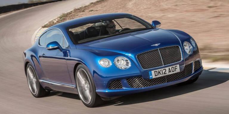 Start für den schnellsten Bentley aller Zeiten