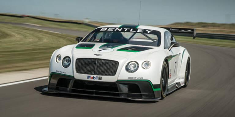 Das ist der Bentley Continental GT3