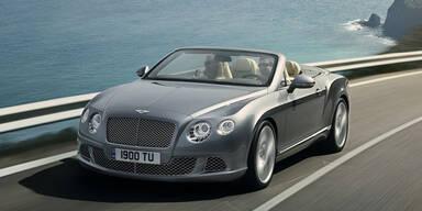 Das ist der neue Bentley Continental GTC