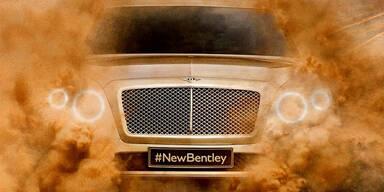 """Erstes Foto vom Bentley SUV """"Falcon"""""""