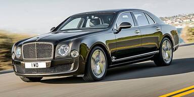 Bentley bringt den Mulsanne Speed