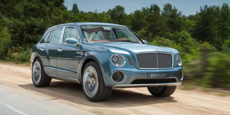 """Bentley baut das Luxus-SUV """"Falcon"""""""