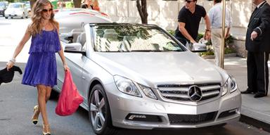 Hauptrollen für Mercedes & Maybach in SATC2