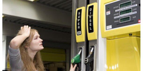 Diesel und Benzin nun gleich teuer
