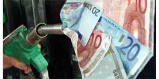 Spritpreis-Teuerungen bis zu sechs Cent