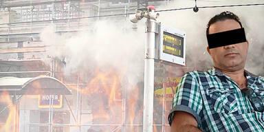 Benzin-Täter sperrte Opfer in Feuerhölle ein