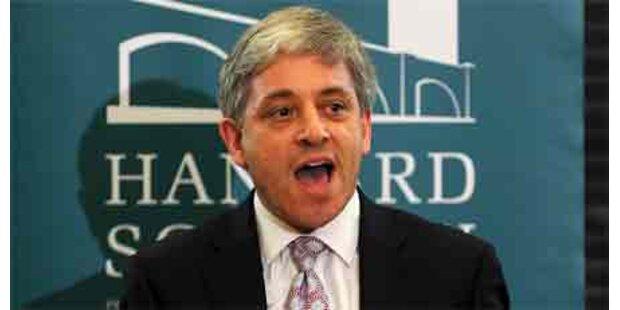 Konservativer Bercow neuer Speaker
