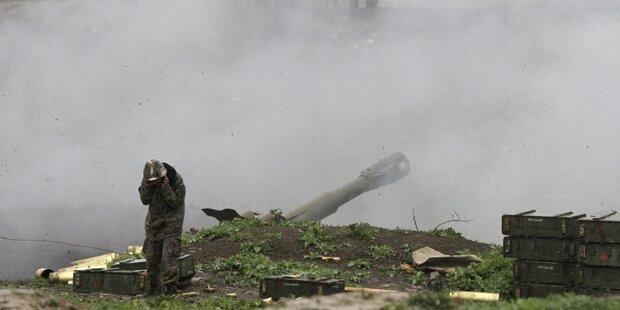 Waffenruhe um Berg-Karabach gebrochen
