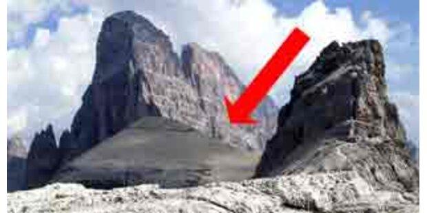 Bergabbruch in Südtirol verursachte Großeinsatz