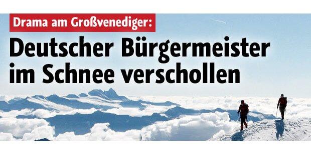 Vermisste deutsche Bergsteiger geborgen
