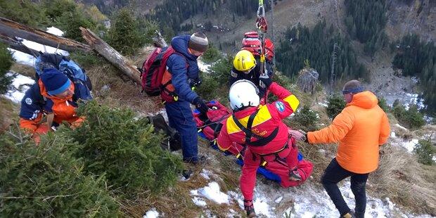 Zwei Wiener Teenager verirrten sich in den Alpen