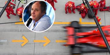 Berger stellt sich auf Leclercs Seite