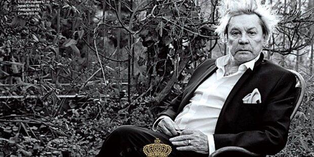 Helmut Berger: Wien-Shooting für Magazin