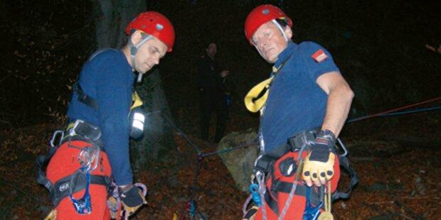 Kletterer stürzte 5 Meter kopfüber ab