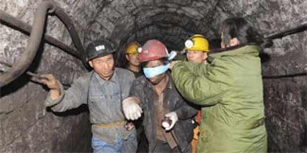 115 Bergleute aus der Mine gerettet