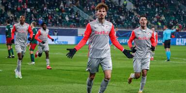 3:1 - Salzburg siegt und wahrt Chance