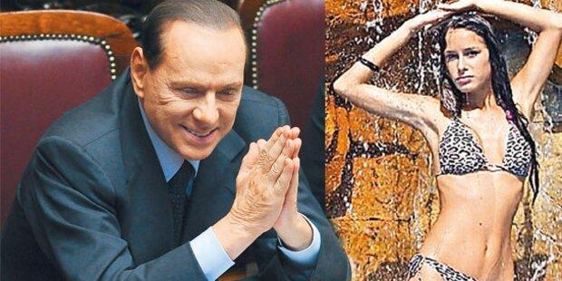 Berlusconi: Das ist seine Neue