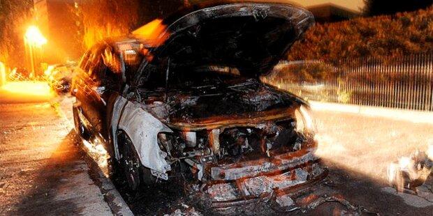 Berlin: Wieder brennen Autos