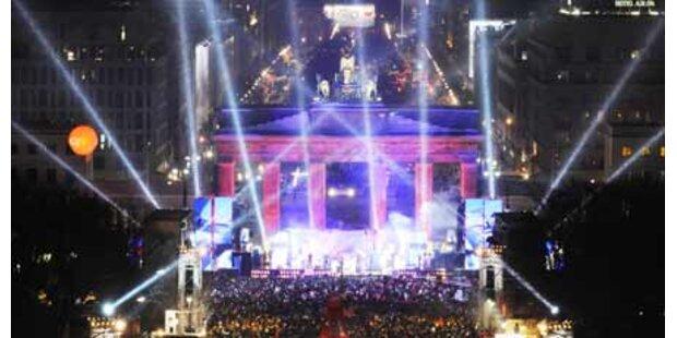 Die Welt feierte mit Megapartys