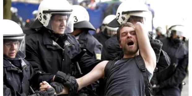 Gewalt bei linker Demo in Berlin