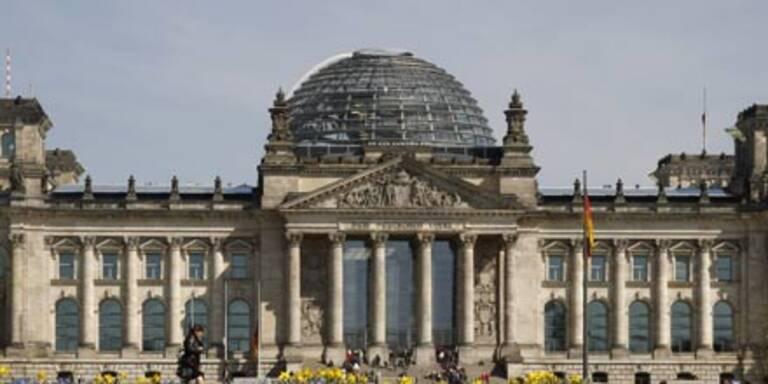 Mann tötete sich im Reichstagsgebäude