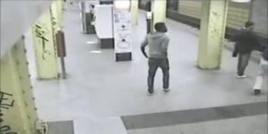 Brutaler Überfall in Berliner U-Bahn