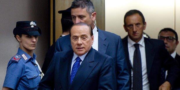 Anklage fordert 7 Jahre Haft für Berlusconi