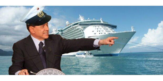 Berlusconi plant G-8-Gipfel auf Luxusliner